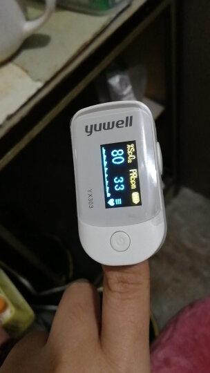 鱼跃(YUWELL)血氧仪YX301 指夹式血氧饱和度脉搏检测器 彩色液晶显示 晒单图