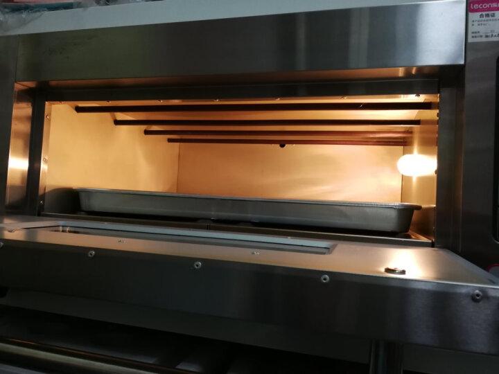 乐创(lecon) 电脑版烤箱商用燃气大型烤炉蛋糕面包披萨烘炉焗炉 电烤箱 燃气三层六盘 晒单图
