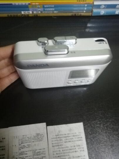 熊猫(PANDA)F-332复读机磁带机英语磁带插卡/U盘TF卡mp3播放器录音机转录机收音机 晒单图
