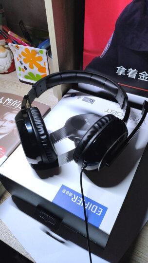 漫步者(EDIFIER)K815 头戴式立体声游戏耳机 电脑耳麦 绝地求生耳机 吃鸡耳机 办公教育 学习培训 黑色 晒单图