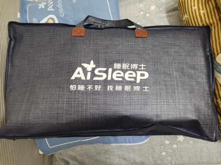 睡眠博士(AiSleep)枕芯 枕头决明子荞麦枕 舒睡酒店枕头 晒单图