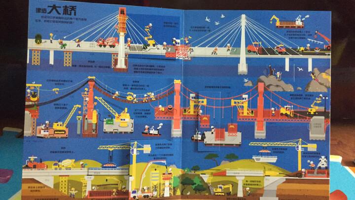 最全最酷的交通工具(超酷立体翻翻玩具书)耕林 晒单图
