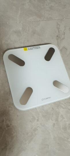 云麦(YUNMAI)好轻SE 智能体重秤 家用电子秤 人体秤 蓝牙连接 APP控制 白色 晒单图