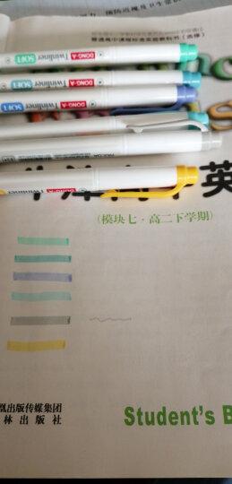 奥博(AOPO)韩版双头荧光笔糖果色diy创意涂鸦手帐笔记水彩色标记号手绘水笔韩酷822可选 韩酷822绿色 晒单图