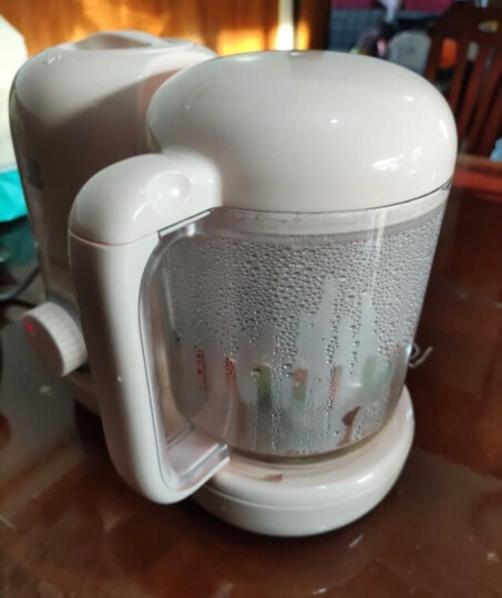 小白熊 婴儿辅食机 蒸煮搅拌一体机 迷你宝宝料理机  搅拌机榨汁机 多功能电动研磨器 HL-0972 晒单图