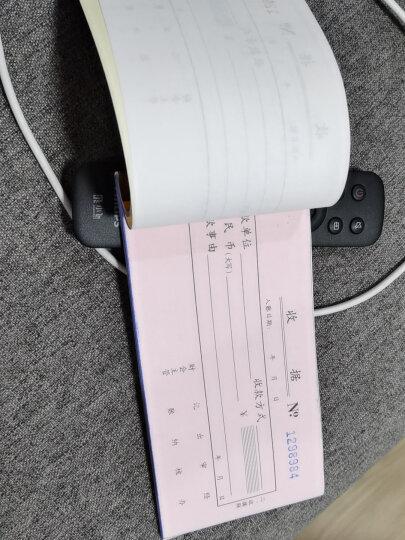 得力(deli)10本无碳原纸三联单栏收据 财务手写收据单 办公用品 9384 晒单图