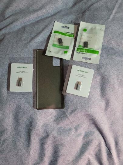 绿联 Type-C转接头 安卓OTG数据线转换头 Micro USB转USB-C手机平板充电线转换器 支持华为荣耀小米 30391黑 晒单图