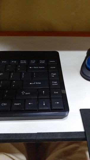 Perixx佩锐 PB409U 迷你商务工业办公USB键盘 有线USB静音 防泼溅键盘 晒单图