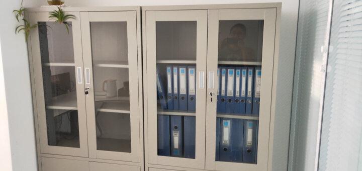 苏美特 办公家具文件柜办公柜铁皮柜档案柜陈列柜资料凭证柜 图八 经济型0.6mm 晒单图