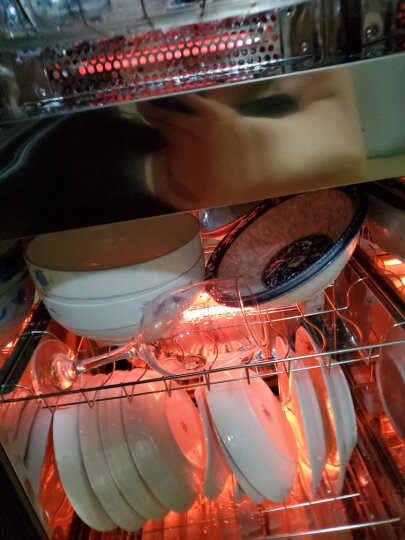 美的(Midea)消毒柜家用 立式 消毒碗柜 消毒柜碗筷 厨房餐具 消毒柜 小型 二星级 80K03 晒单图