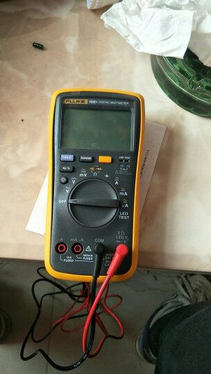 福禄克(FLUKE)18B+数字万用表 掌上型多用表自动量程发光LED测试仪器仪表 晒单图
