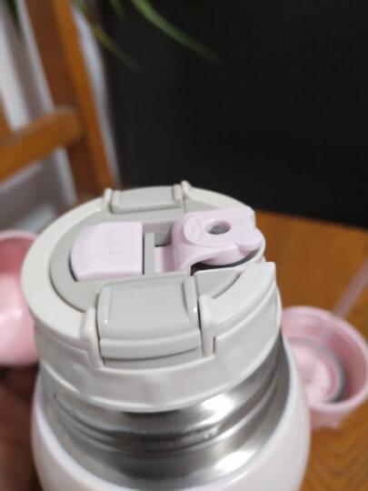杯具熊儿童便携保温杯带吸管双盖两用316不锈钢内胆男女宝宝幼儿吸管保温水瓶学生大容量户外直饮水杯 浮雕鸡 晒单图