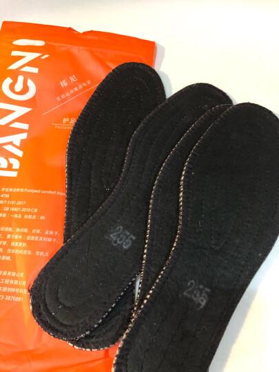 邦尼世家羊毛保暖鞋垫男女加厚透气吸汗舒适防臭冬季皮鞋雪地靴羊绒棉鞋垫 加厚羊毛 5双装 36 晒单图