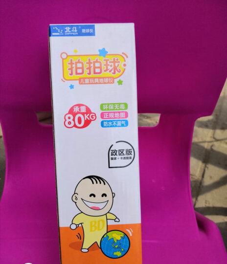 北斗儿童地球仪·软软的地球仪(充气地球仪 赠打气筒) 晒单图