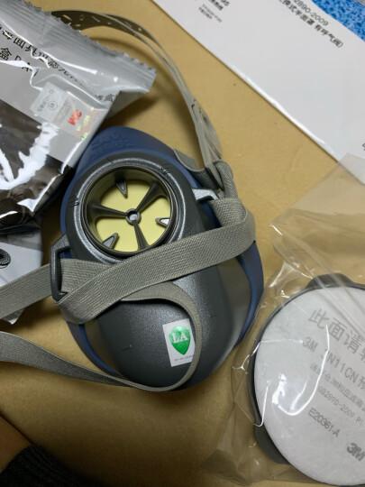 3M 1211防尘面具 防工业粉尘颗粒物 PM2.5 面罩三件套 晒单图