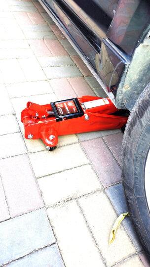 通润(TORIN)蓝色卧式液压千斤顶2吨 汽修工具 小车轿车面包车用换胎工具 塑盒款2T 晒单图