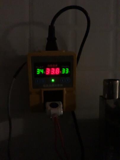 西法TC-05B地暖温控器高精度数显温控仪智能温度控制器大棚温控开关插座配防水探头 TC-05B温控器(配2米探头) 晒单图