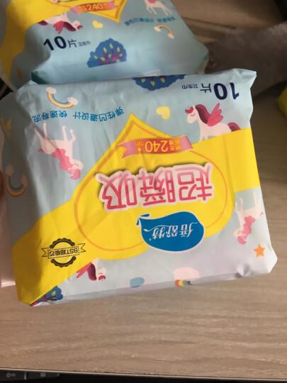 倍舒特 产妇超长夜用卫生巾护理垫 妇婴两用巾 10片*5包特惠装(395mm*170mm ) 晒单图