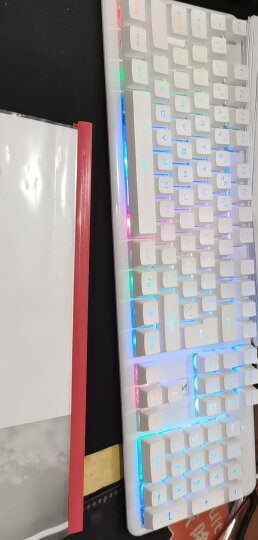 新盟机械手感蒸汽朋克键盘鼠标耳机三件套装台式电脑办公笔记本外接有线游戏外设绝地求生cf吃鸡键鼠 银白色混光(经典版)键盘+银鼠标+耳机 晒单图