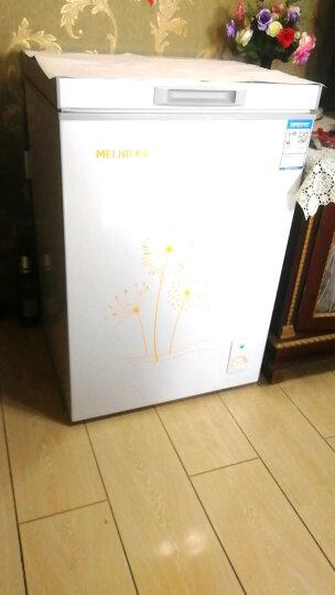 美菱(MeiLing) BC/BD-98DT 98升 小型家用 冷藏冷冻变温 冰柜 卧式  晒单图