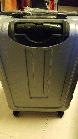 瑞士军刀威戈(Wenger)拉杆箱行李箱旅行箱24英寸ABS材质银色SAX631117107068 晒单图