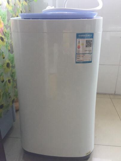 TCL 2.5公斤 全自动迷你波轮洗衣机 纳米抗菌 母婴洗 10程序4水位 (梦幻蓝) XQB25-Q3 晒单图