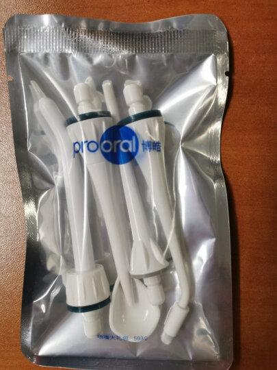 博皓(prooral)冲牙器水牙线洗牙器便携牙齿清洁器冲洗器5013 琉璃蓝(推荐) 晒单图
