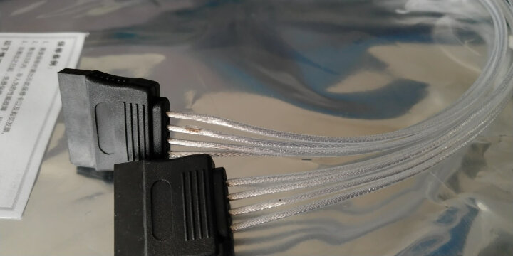 GELID sata转显卡8pin 转接线(转接显卡6pin/8pin/20CM镀银线/SATA母头转显卡6+2 线/GX-SATA/8P) 晒单图