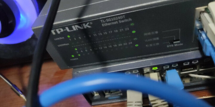 TP-LINK TL-SG1024DT  T系列24口全千兆非网管交换机 晒单图