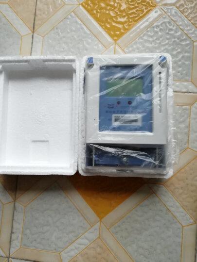 毕跃 上海华立电表单相电子式预付费电能表IC卡智能插卡家用物业出租房电度表 A型液晶卡表10(40)A) 晒单图