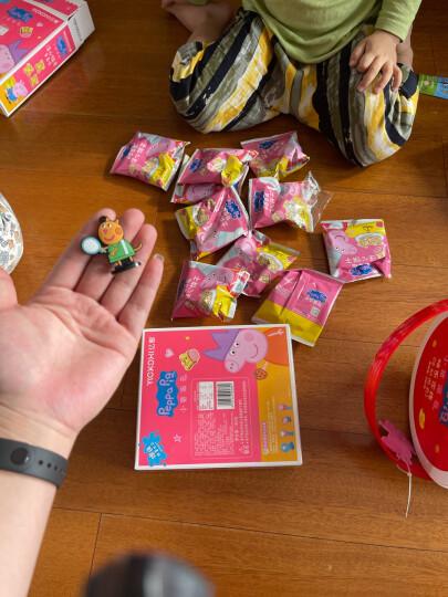 小猪佩奇 Peppa Pig 牛奶曲奇饼干 益生元+膳食纤维+钙 儿童小饼干 卡通手指代早餐饼干 盒装 80g 晒单图