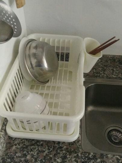 乾越(qianyue) 厨房通用大号沥水篮蔬果碗碟滴水架碗筷收纳沥水架 晒单图