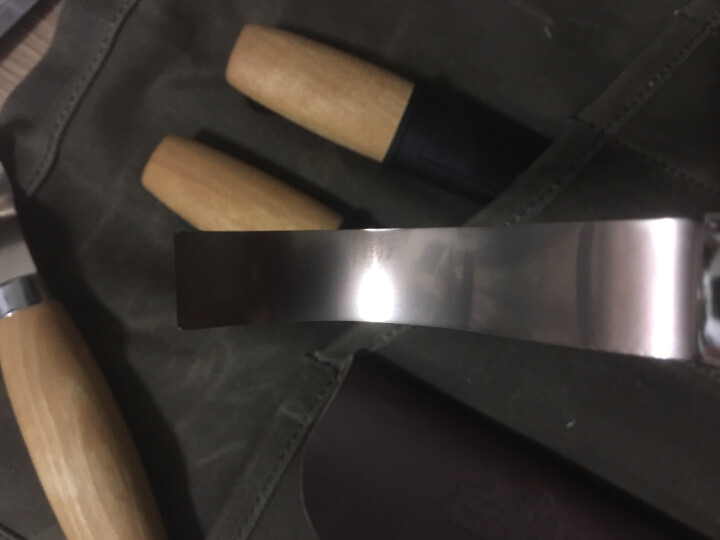 MORAKNIV 瑞典MORA莫拉 木刻师  工匠直刀匠人手工雕刻工具户外装备刀野营工具刀 童子军无尖版 晒单图
