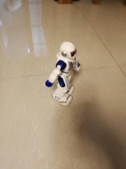 宝贝星(BBS)早教智能机器人玩具 儿童玩具男孩编程遥控机器人机械战警益智早教机 36CM 机械战警(黑 可发射子弹、语音对话) 晒单图