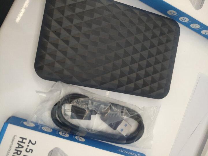 奥睿科(ORICO)移动硬盘盒2.5英寸Type-C SATA串口笔记本电脑外置壳固态机械ssd硬盘盒子 全透明2139C3 晒单图
