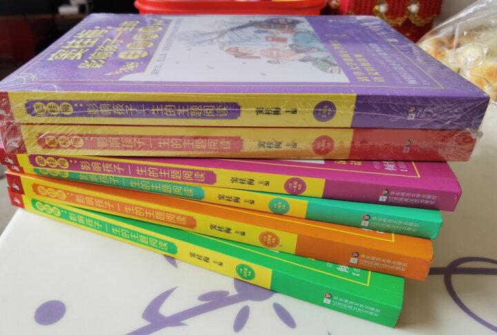 窦桂梅 影响孩子一生的主题阅读:小学3-4年级(套装共2册) 晒单图