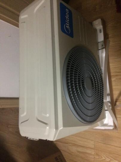 美的(Midea)大1匹/1.5匹冷暖定速空调挂机 静音舒适 卧室壁挂式空调 省电星 KFR-35GW/DY-DH400(D3) 晒单图