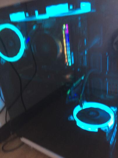 爱国者(aigo)月光宝盒X黑京东专供版 台式机水冷电脑机箱(三面钢化玻璃/支持240冷排) 晒单图