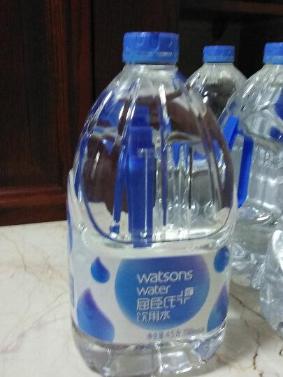 屈臣氏(Watsons)饮用水105℃高温蒸馏(添加矿物质)百年水品牌 旅行聚会家庭饮水推荐 4.5L*4桶 整箱装 晒单图