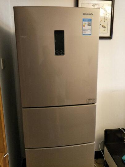 松下(Panasonic)318升典雅银冰箱三门 风冷电冰箱 自由变温室 变频无霜 -3℃微冻保鲜NR-C320WP-S 晒单图
