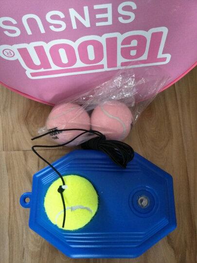 天龙 带线网球单人训练器套装 皮筋球弹力绳回弹球 底盘+带线网球(带绳) 晒单图