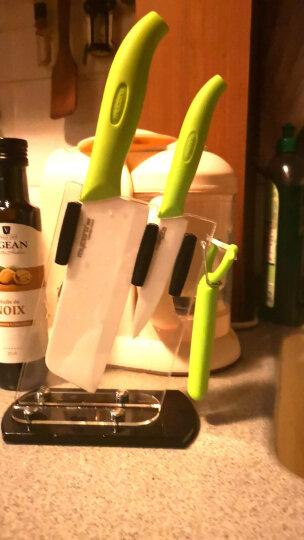 美瓷(MYCERA) 陶瓷刀4件套 菜刀厨师水果刀 (桃红色)TE01P 晒单图