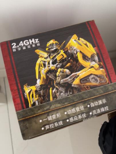 变形金刚(Transformers)玩具6擎天柱大黄蜂可声控感应遥控汽车人变形模型儿童男孩玩具 擎天柱【手势感应+声控变形】-三电池 晒单图