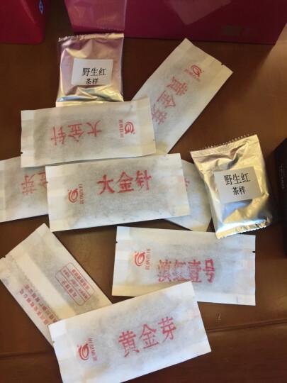 茗纳百川 2019年云南凤庆滇红茶特级蜜香金丝 黄金芽 工夫红茶 茶叶200克/盒包邮 晒单图