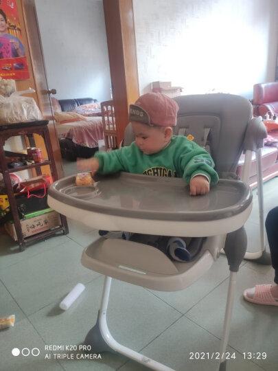 gb好孩子 婴幼儿便携式餐椅 可折叠 儿童餐椅 Y5800-J296(7个月-36个月) 晒单图