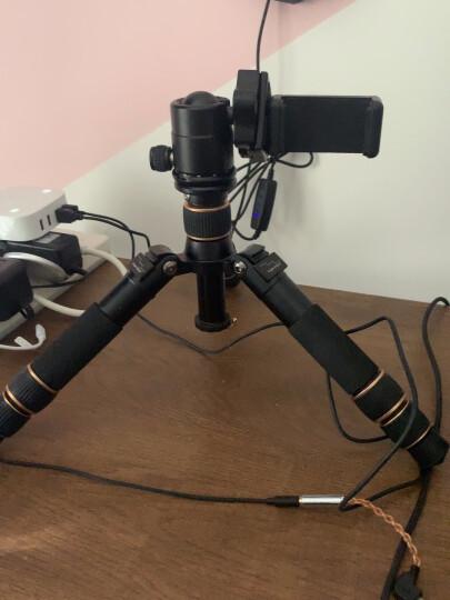 轻装时代Q166A迷你三脚架 轻便携短小相机桌面爬楼微距三角架云台佳能微单反摄影手机直播自拍杆支架 Q166A+自拍杆套装 晒单图