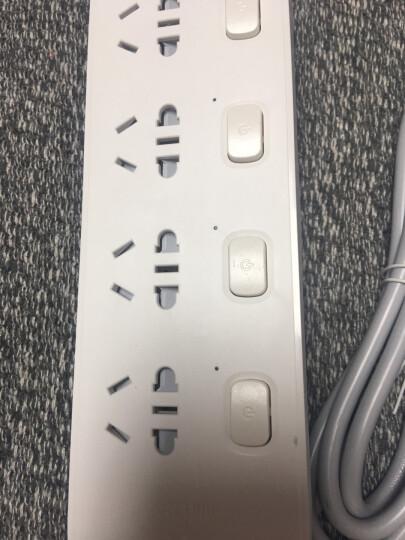 公牛(BULL)新国标分控插座/插线板/插排/排插/接线板/拖线板 GN-B2033 3位分控全长1.8米 独立开关 晒单图