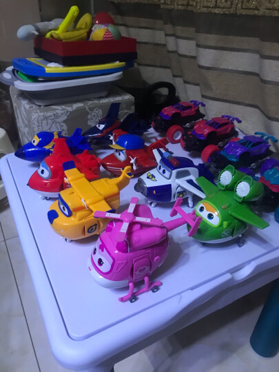 奥迪双钻(AULDEY)超级飞侠儿童玩具大变形机器人-卡文 男孩女孩玩具生日礼物 710270 晒单图