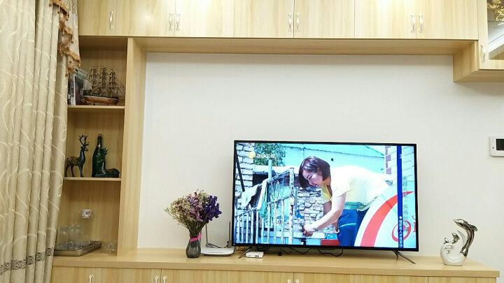 Snnei室内 仿真木质帆船模型摆件 创意家居客厅玄关酒柜装饰品 办公室桌面装饰小摆设 蓝白色帆船 晒单图