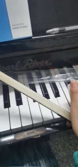 青歌 乐器GD101巴西木4/4大提琴弓子演奏纯马尾大提琴弓子弓毛 4/4 檀木大提琴弓 晒单图